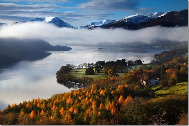 Misty Morning - Ullswater, Cumbria, England