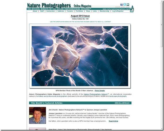 Nature Photographers dot Net
