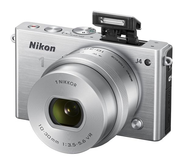 Nikon J4, 18.4MP CMOS Sensor, EXPEED 4A Image Processor, Hybrid AF System, High-Speed Continuous Shooting, Full HD Movie Recording, Built-In Wi-Fi Connectivity