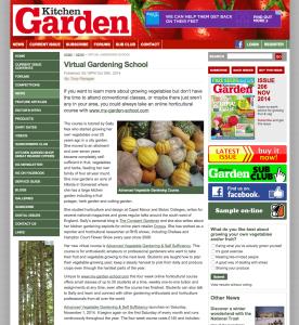 Kitchen Garden Sally Nex