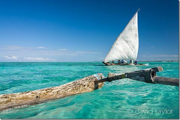 Traditional Dhow, Jambiani, Zanzibar