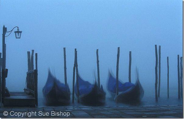 109 gondolas in fog