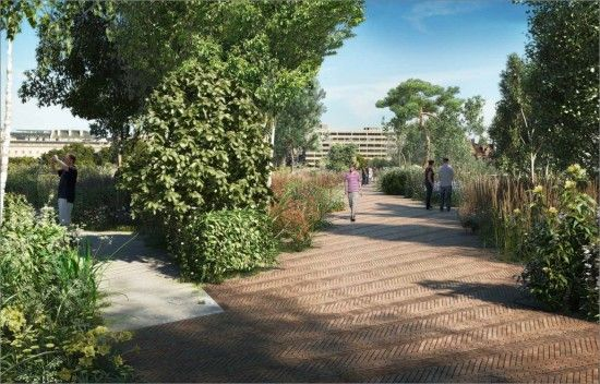 What the Garden Bridge could look like
