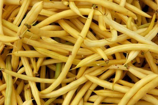 9 Golden wax beans