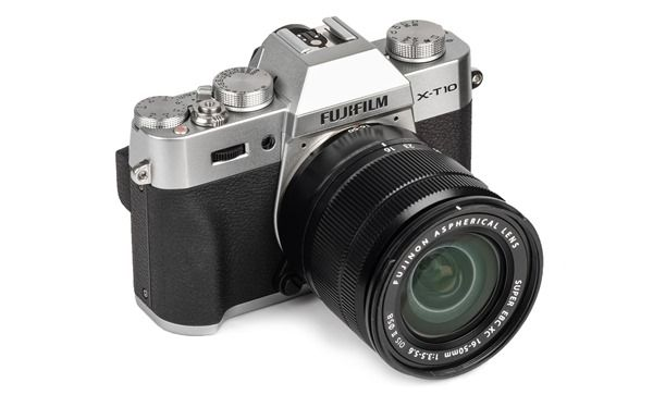 x-t10 silver with XC16-50mm lens