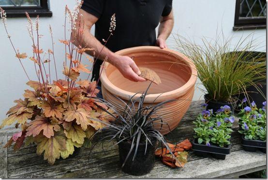 2. Use crocks for drainage