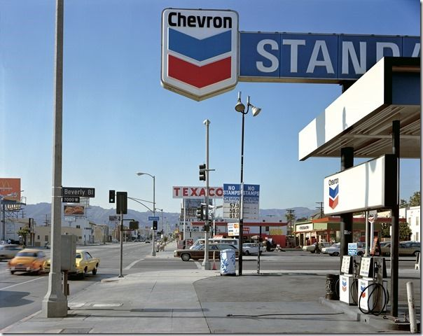 Stephen Shore, Beverly Boulevard and La Brea Avenue, Los Angeles, California, June 21, 1975