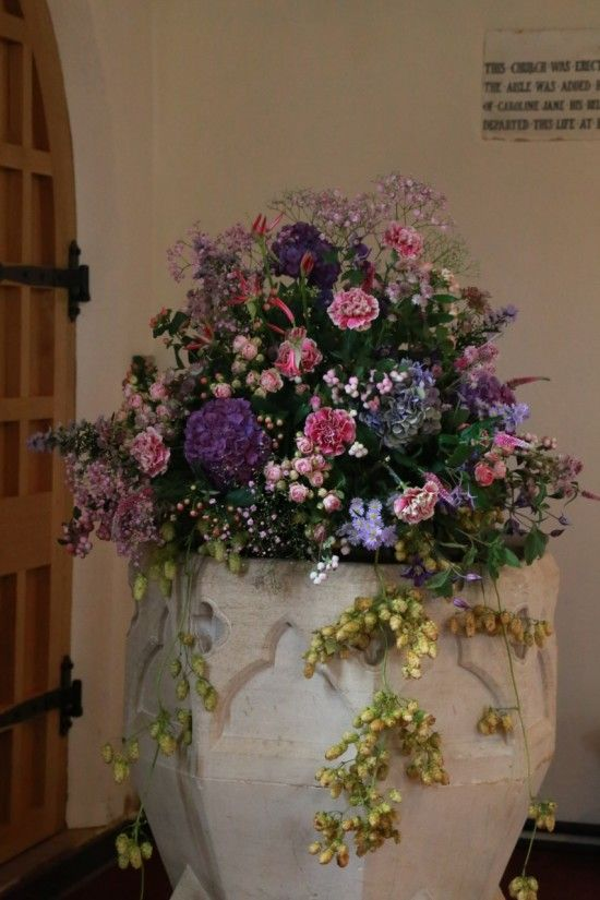 Wedding Flowers at The font