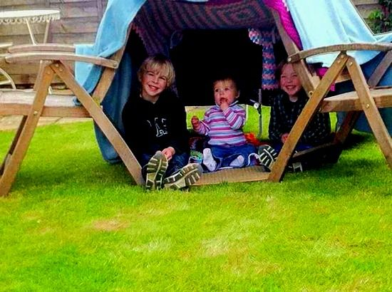 5 A good use for garden furniture