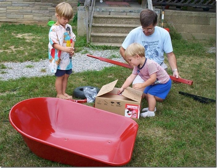 3 Assembling a wheelbarrow