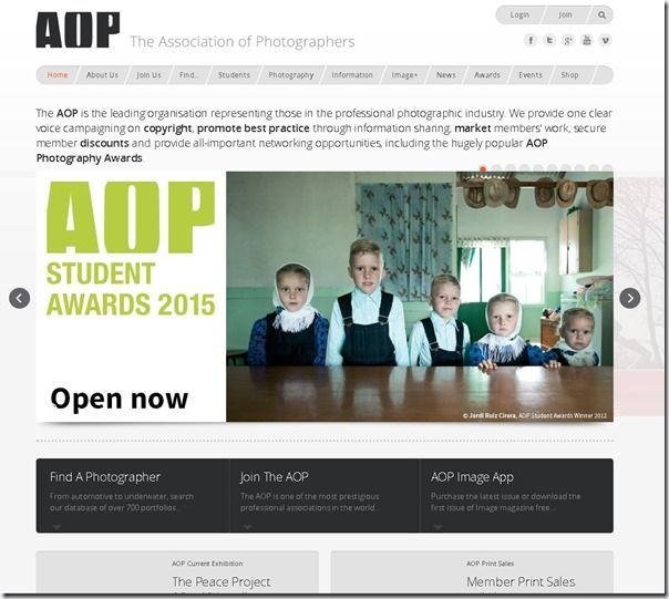 The Association of Photographers