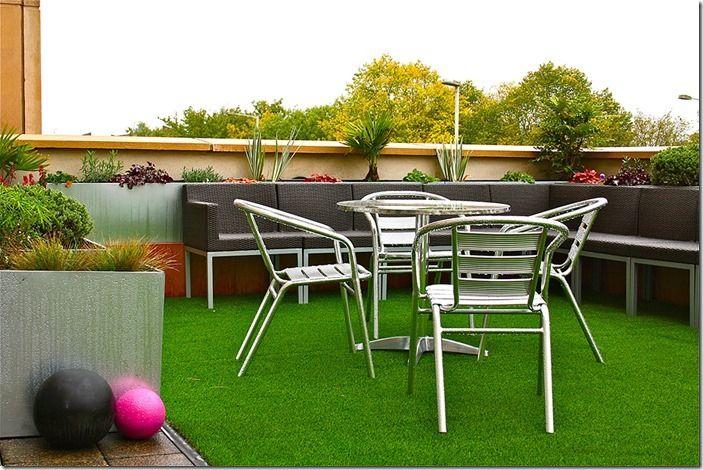 6 Astroturf Lawn