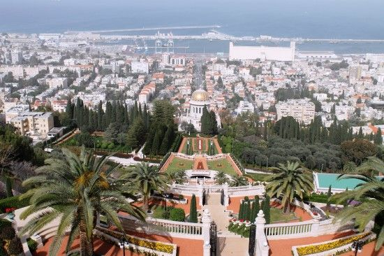Ba'hai temple and gardens, Haifa