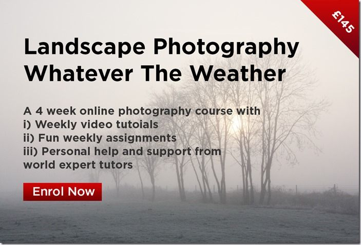 Landscape photography wHAETVER THE WEATHER