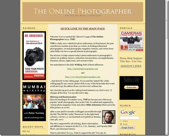 The Online Photographer