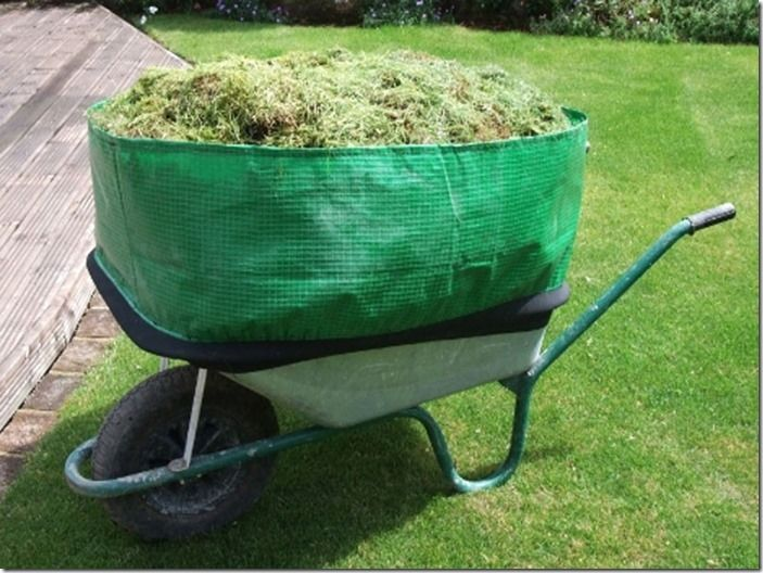 4 Handy wheelbarrow extension
