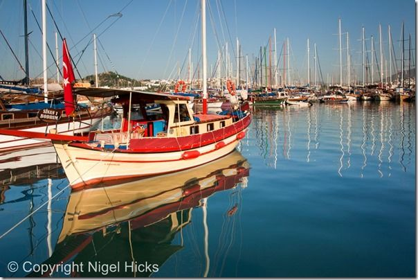 Early morning view of boats in the harbour, at Bodrum, Travel Photography, Holiday, photography, ideas, tips, vacation, course,  class, city break, street photography, people, story, documentry,