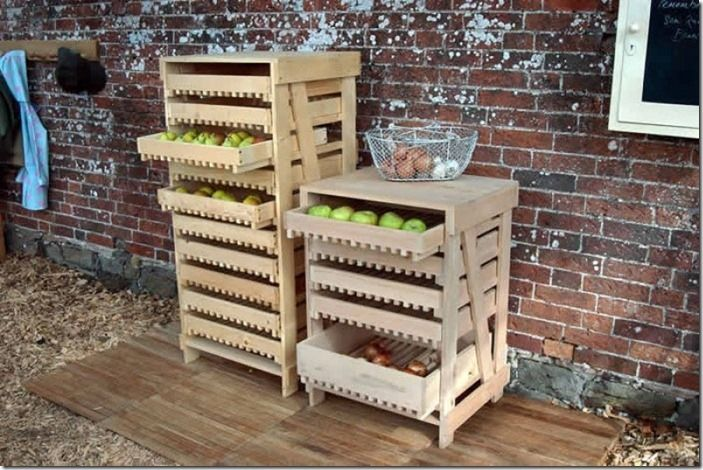 5 Apple storage racks