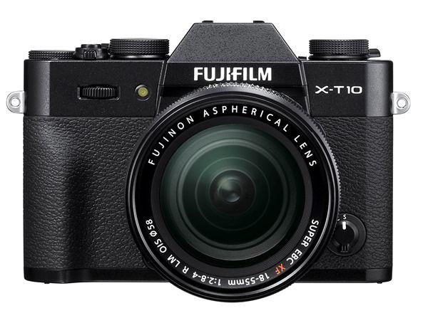 X-T10_front black18-55mm