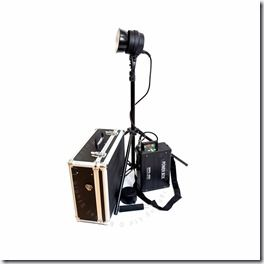 Bessel WPS-400 portable flash kit