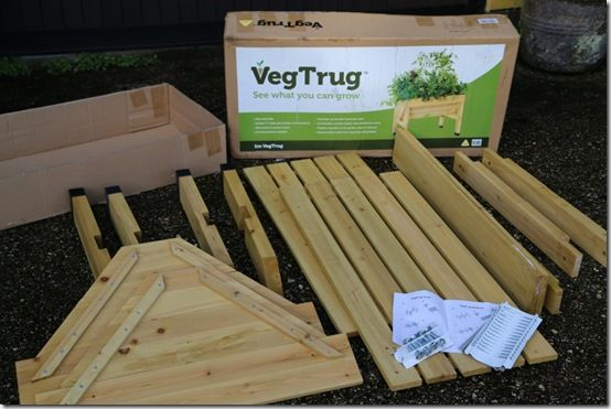Small Veg Trug parts