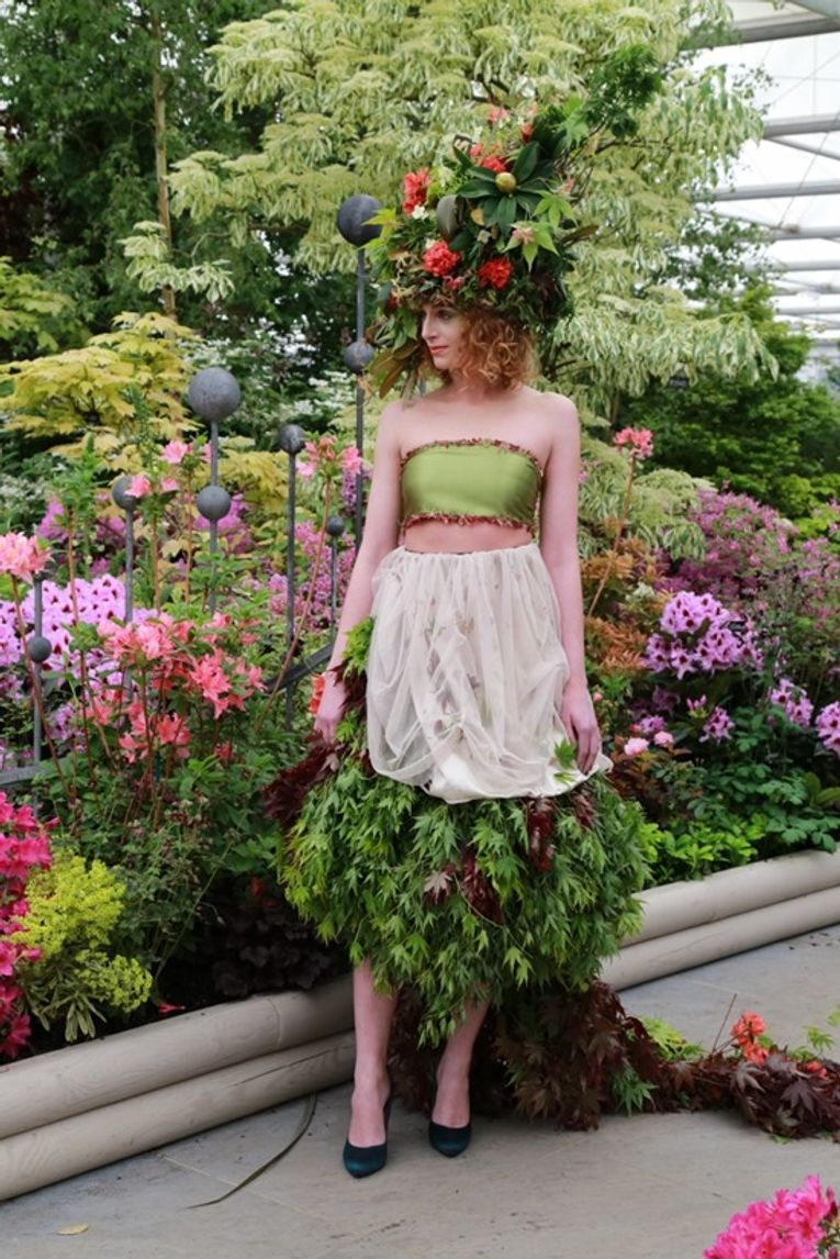 13 The Foliage Dress at RHS Chelsea Flower Show