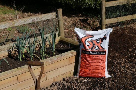3 6X Organic Fertiliser