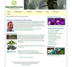 Garden Forums Horticulture