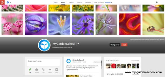 Gardening Google+