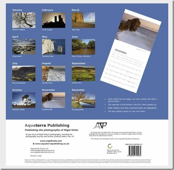 How to Publish a Photography Calendar, How to publish a calendar, Printing, selling, photography, landscape