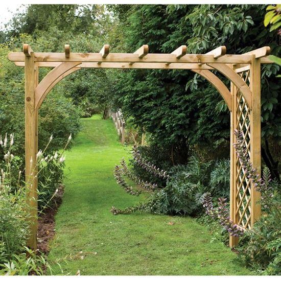 3 Wide garden archway