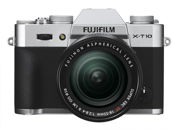 X-T10_front silver18-55mm